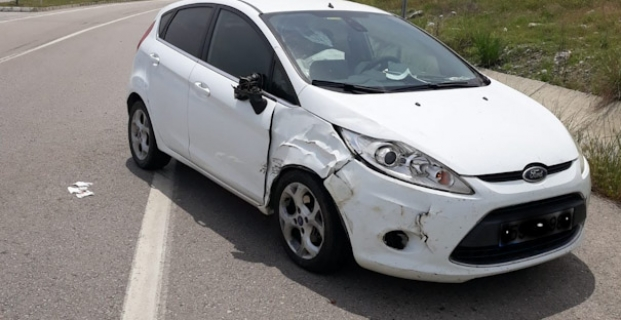 Kargı'da trafik kazası: 1 yaralı
