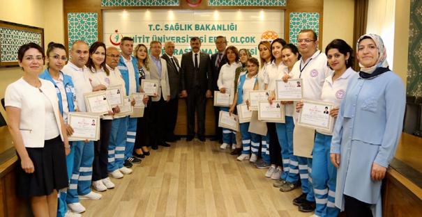 Kargı 'Evde Sağlık Birimi'ne başarı belgesi