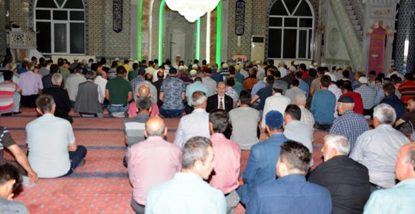 Kargı Mihri Hatun Camii doldu taştı