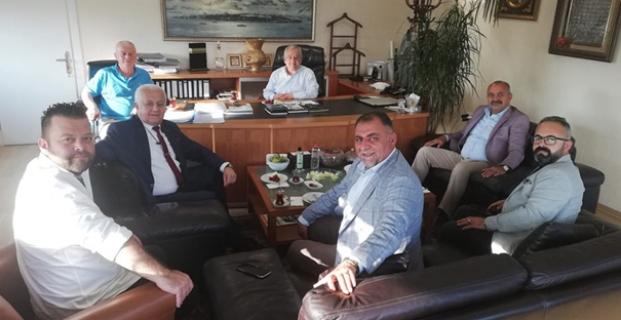 Kargılı İşadamı Metin Erişken'e misafir oldular