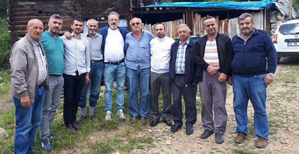 Başköyder'den Hacıveli Köyü'ne ziyaret