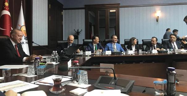 Erdoğan milletvekilleriyle buluştu