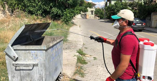 Kargı Belediyesi'nden temizlik hizmeti
