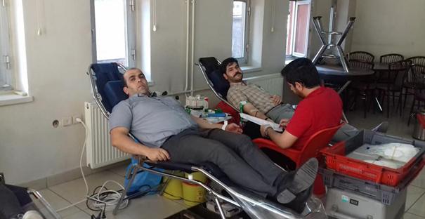 Kargı Müftülüğü'nden kan bağışı kampanyasına destek