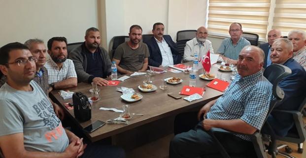 Kızılay'da ilçe temsilcileri ile toplantı