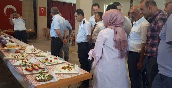 Yeşilköy'de peynir kursu tamamlandı