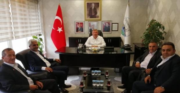 ÇORDEF'ten Başkan Gelgör'e ziyaret