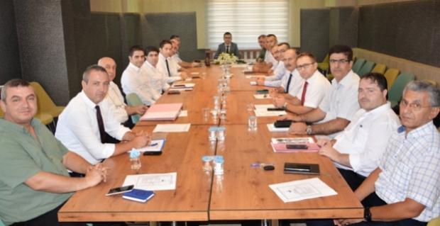 İlçe Müdürleri ile toplantı