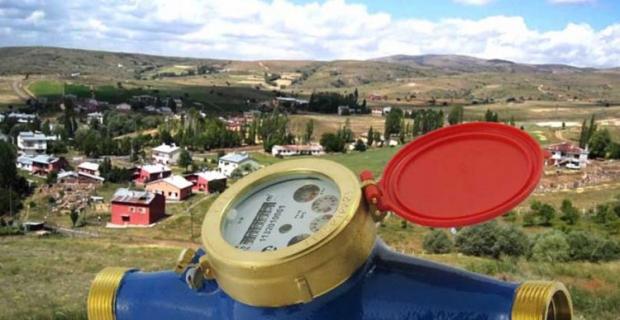 Köylere su sayacı takılacak
