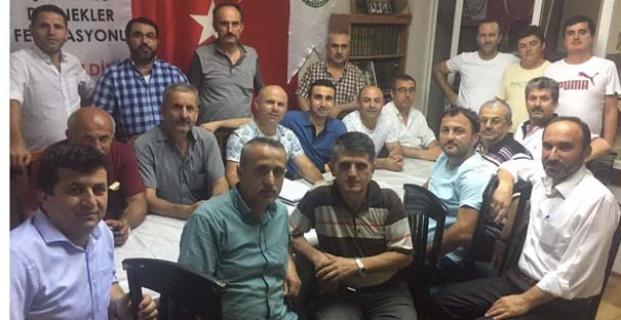 Tepearkası Köyü'nden olağan toplantı