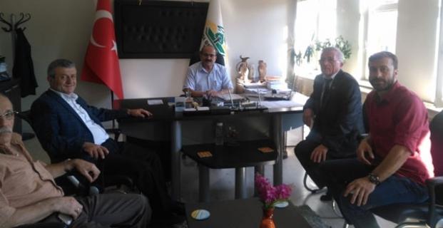 CHP heyeti kurumları ziyaret etti