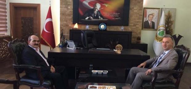 Başkan Şen'den Bölge Müdürü Oflu'ya ziyaret