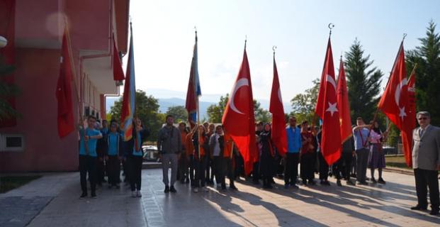 Kargı'da 29 Ekim törenle kutlandı
