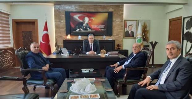 Ak Parti'den Orman Bölge Müdürü Oflu'ya ziyaret