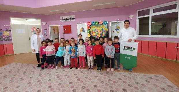 125. Yıl Anaokulu'nda TEMA eğitimi