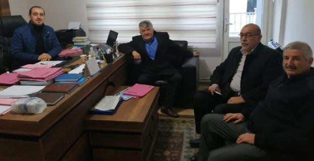 Ak Parti'den Avukat Özdemir'e ziyaret
