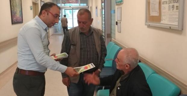 Kargı Hastanesi'nden organ bağışı bilgilendirmesi