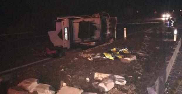 Kargı'da trafik kazası: 1 ölü, 4 yaralı