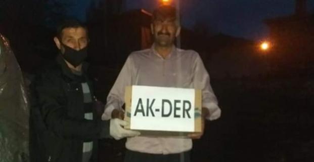 AK-DER'den ramazan kolisi