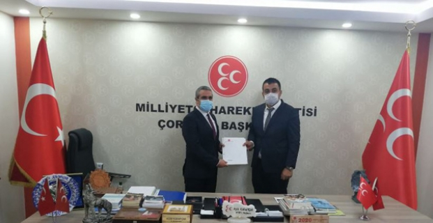 MHP Kargı İlçe Başkanlığına Murat Soruk atandı