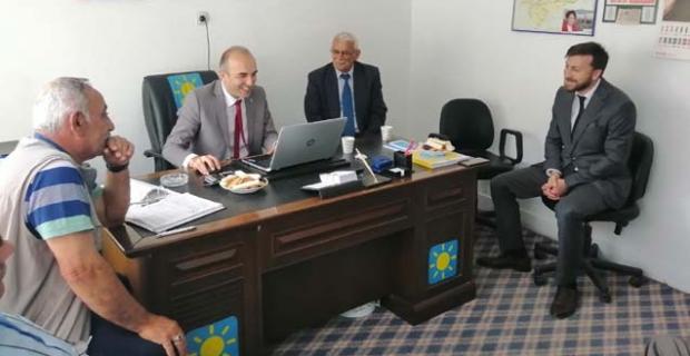 İYİ Parti İl Başkanı Özsaçmacı'dan Kargı ziyareti
