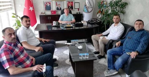 Kargı MHP'den Osmancık Belediyesi'ne ziyaret