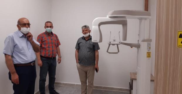 Panaromik Diş Röntgen cihazı hizmete girdi