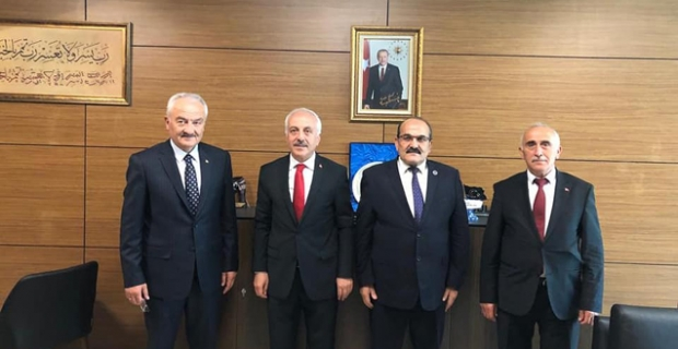 Başkan Şen'den Zeki Gül'e ziyaret