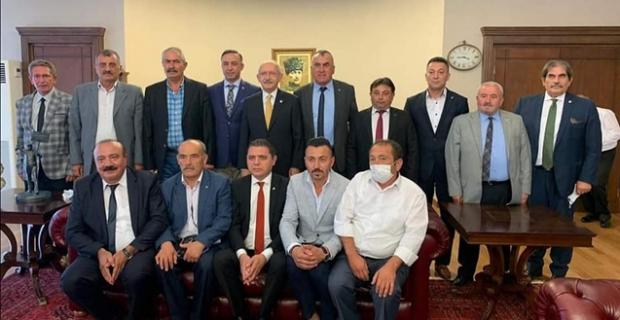 CHP Çorum heyeti, Kılıçdaroğlu ile görüştü