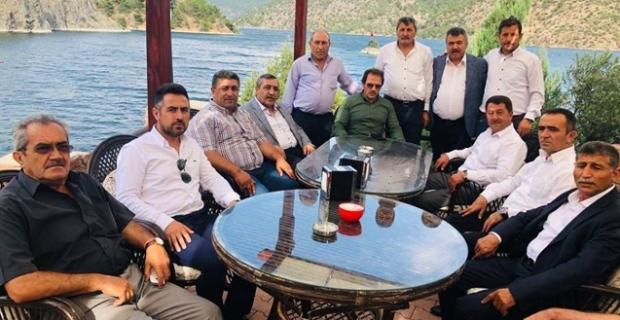 Mehmet Yiğiner, oda başkanları ile buluştu