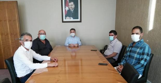 Ahmet Aydın'ı ziyaret ettiler