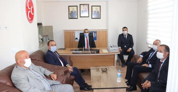 MHP Murat Soruk'la devam dedi