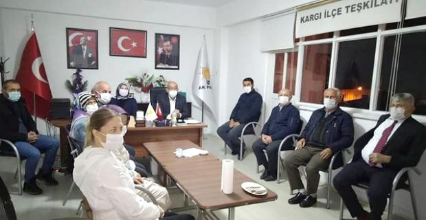 AK Parti Kargı İlçe Başkanlığı'nda toplantı