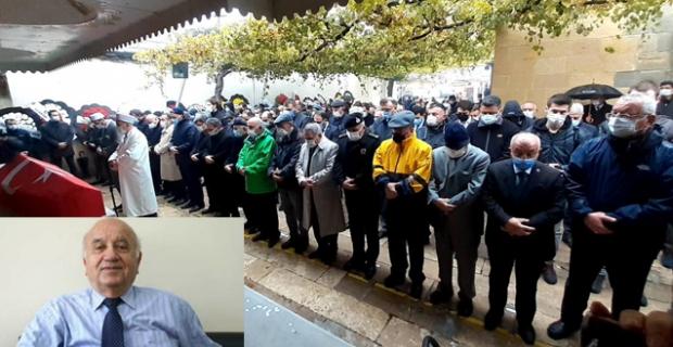 Prof. Dr. Ahmet Samsunlu son yolculuğuna uğurlandı