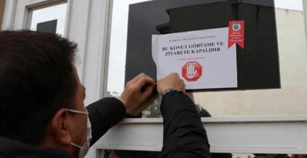 Kargı'da koronavirüs olan evlere 'Ziyarete Kapalıdır' yazısı asılacak