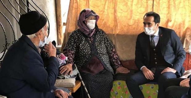 Kore Gazisi'ni evinde ziyaret etti