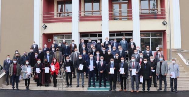 Kargı'da 4 okula temiz belgesi