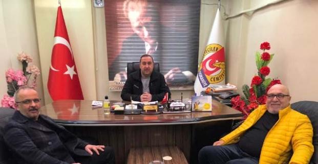 KGK Yerel Medya Meclis Başkanı ile görüştüler