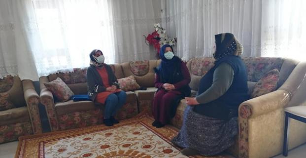 AK kadınlardan yakınlarını kaybedenlere ziyaret