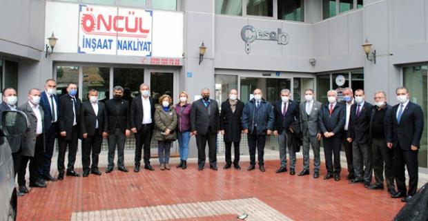 CHP Ekonomi Masası Heyeti esnafların sorunlarını dinledi