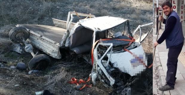 Feci kaza! Sürücü hayatını kaybetti