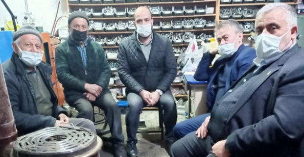 Kooperatif Başkanı ile sohbet ettiler