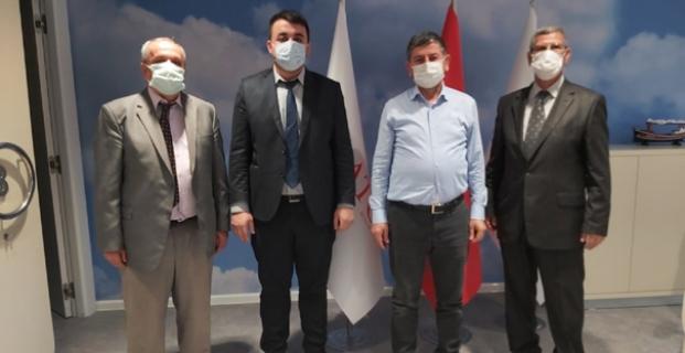 MHP Kargı'nın doğalgaz konusunu genel müdür ile görüştü