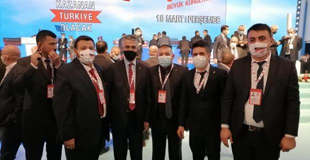MHP'nin büyük kurultayına Kargı'dan katılım sağladılar