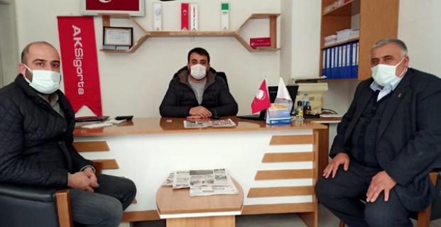 Murat Soruk'a başsağlığı ziyareti