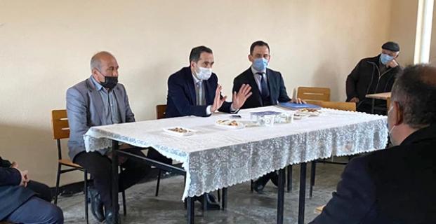 Sulama kooperatifi için toplantı