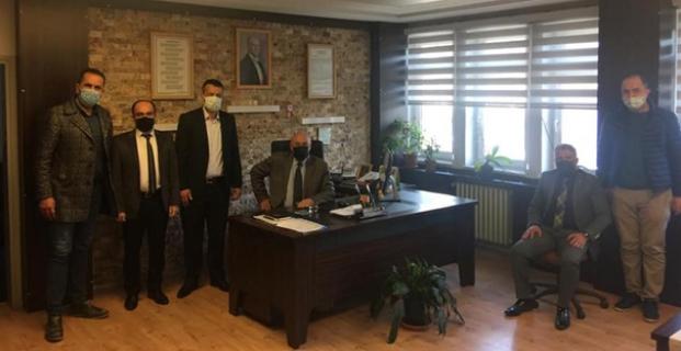Türk Eğitim Sen'den Kargı ziyareti