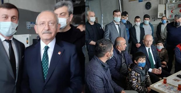 Ergül, Kılıçdaroğlu'nun Boyabat ziyaretine eşlik etti