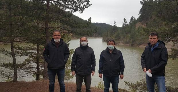Kargı Aksu Tabiat Parkı'nı incelediler
