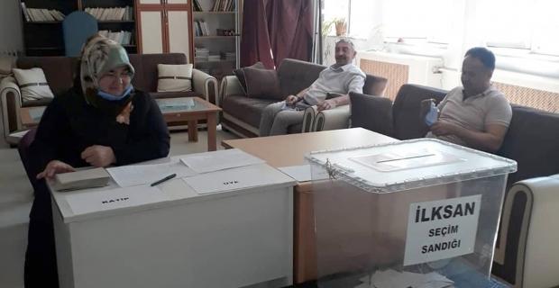 Kargı'da İLK-SAN seçimleri yapıldı